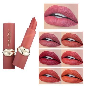 MISS ROSE 12 Color Matt Velvet Lip Stick Långvarig Lip Makeup