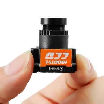 Eachine 1000TVL 1/3 सीसीडी 110 डिग्री 2.8 मिमी वाइड वाइड वोल्टेज 5-20 वी मिनी एफपीवी कैमरा एनटीएसए पाल स्विचेबल