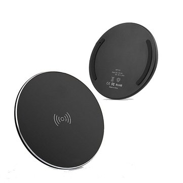 10W Fast Wireless Charger Pad For iPhoneX Huawei P20 Xiaomi mi8 Pocophone f1 Oneplus 6T Note9 S9