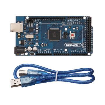 Geekcreit® MEGA 2560 R3 ATmega2560-16AU MEGA2560 Development Board With USB Cable For...