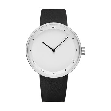 Buy YAZOLE 521 Simple Dial Fashion Style Leather Strap Men Watch Quartz Watch with 9 on Gipsybee.com