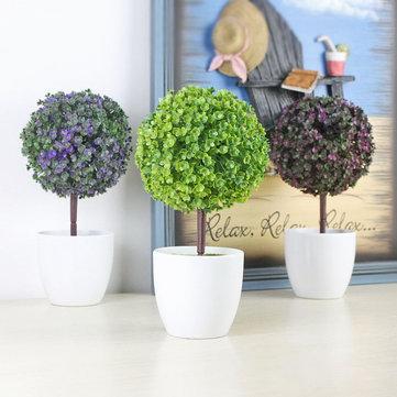 Decorativi decorativi in vaso in vaso