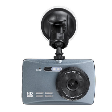 3.5Inch HD 170 Degrees Dual Lens Car DVR Front and Rear Camera Video Dash Cam Recorder Kit