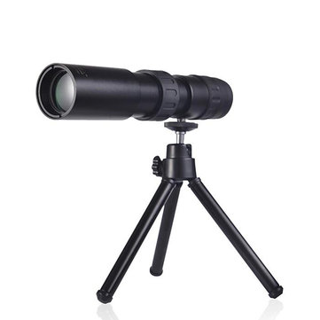 10-300x32 Monocular HD Zoom Telescope Outdoor Camping Waterproof Night Vision With Tripod