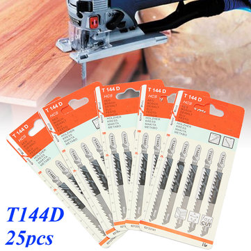 25pcs T144D Tops Tools Jig a vu lame pour Bosch pour Dewalt Makita Milwaukee