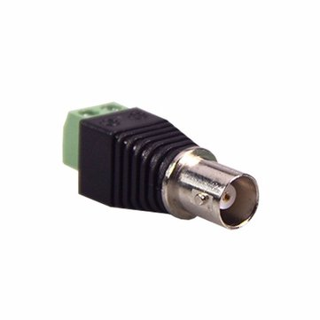 BNC Female Jack Coax Cat5 Cat6 CCTV Coaxial Camera Video Balun AV Screw Terminal Connector