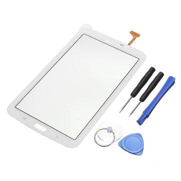 Touch Screen digitador de vidro de substituição para 7 polegadas Samsung Galaxy TAB 3 SM-T210R