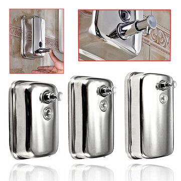 Wall-mount Sabun Dispenser Kotak Sabun Cair Stainless Steel