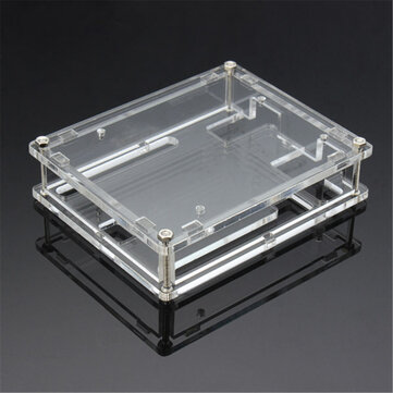 Transparent Acrylic Shell Box For  UNO R3 Module Case
