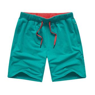 6 रंग ग्रीष्मकालीन पुरुषों की तेजी से सूखी पैंट खेल जिपर घुटने लंबाई शॉर्ट्स