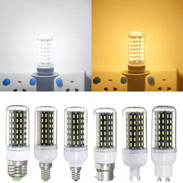 Bulbo e27/e14/e12/b22/g9/gu10 LED 6w smd 4014 96 600lm lâmpada de luz de grão branca branca/quente pura ac 220v