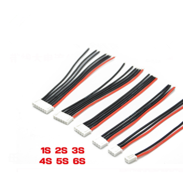 11CM Connecting Silicone Cable Extension Wire 1S2P/2S3P/3S4P/4S5P/5S6P/6S7P for Lipo Battery Balance Charger Battery