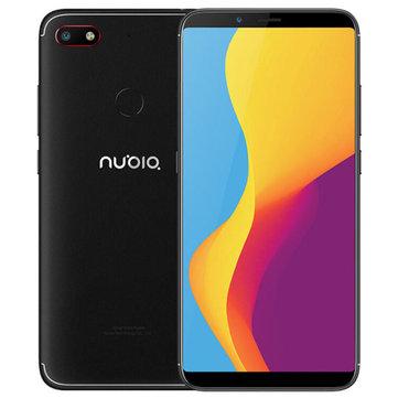 ZTE Nubia V18 Wersja globalna 6.01 Inch FHD + 18: Pełny ekran 9 4000mAh 4GB RAM 64GB ROM Snapdragon 625 2.0GHz Octa Core 4G Smartphone