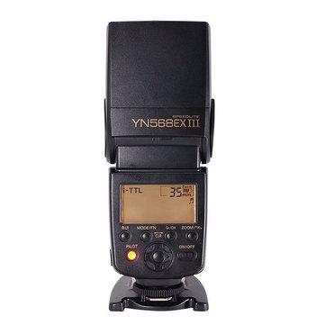 Yongnuo YN568EX III 2.4G TTL High Speed Sync Wireless Flash Light Speedlite For Nikon Camera