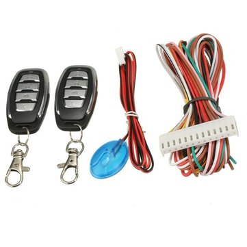 Universal Car Remote Central Lock Locking Control Door Keyless Entry System Kit
