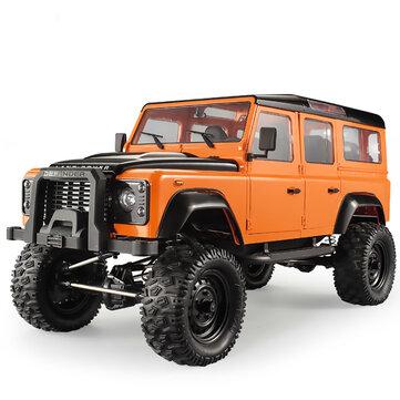 डबल ई E101-003 1/8 2.4G 4WD RC कार D110 क्रॉलर बग्गी RC वाहन मॉडल