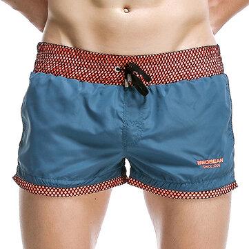 Män Beach Snabbt torr andas Lös baddräkter Board Shorts