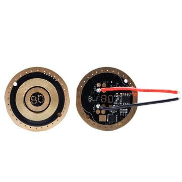 Placa de circuito del chip del controlador BLF Q8 LED del conductor Sofirn Memoria del controlador con Alambre