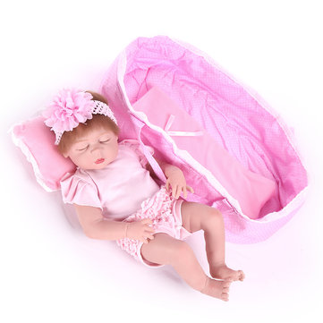 55cm Simulation Baby Silicone Reborn Doll Toy Kids Early Education Toy Children Gift