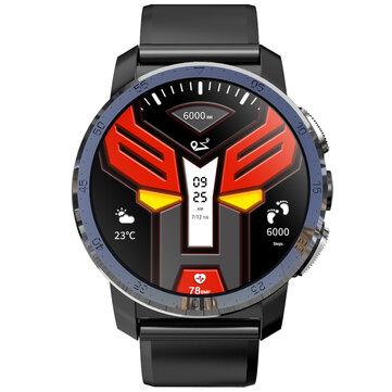 Kospet Optimus Pro Dual Chip System 3G+32GB|MIRROR BLACK|International4GLTE Watch Phone AMOLED 8.0MP 800mAh GPS Google Play Smart Watch Black