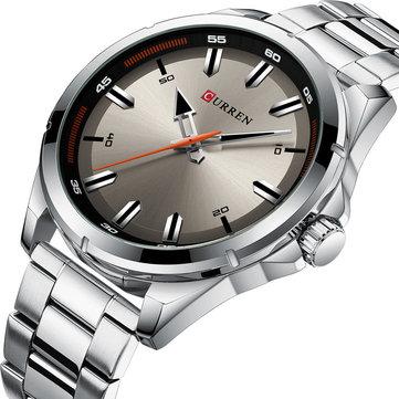 CURREN 8320ビジネススタイルメンズ腕時計ステンレススチールデザインクォーツ時計