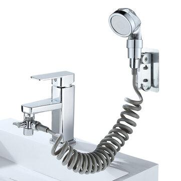 9.99 For 6Pcs/Set Bathroom Wash Face Basin Water Tap External Shower