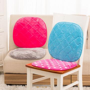 42x40cm Hafıza Pamuklu Yumuşak Sandalye Yastığı Araba Ofis Minderleri Rahat Ayak Yastığı Pedleri Ev Dekoru