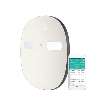 Digoo DG-SO38H 180Kg Smart LED bluetooth Large Body Fat Scale Composition Monitor...