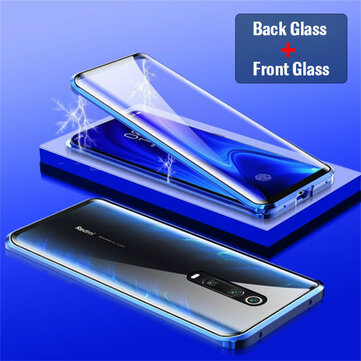 Bakeey Xiaomi Mi 9T / Mi9T Pro / Xiaomi Redmi K20 / Redmi K20 PRO 360º Curved Screen Front+Back Double-sided Full Body 9H Tempered Glass Metal Magnetic Adsorption Flip Protective Case