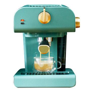 PETRUS PE3320 Espresso Machine 850W 20Bar with Adjustable Milk Frother for Cappuccino Latte Mocha