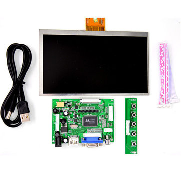 Raspberry Pi 7 inch  HD LCD Screen 1024 * 600 Display Module Kit