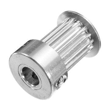 10PCS 16 Teeth Bore 5MM Alumium Timing Gear GT2 Pulley For 3D Printer