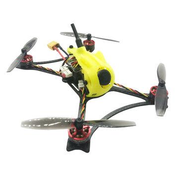 FullSpeed Toothpick F4 OSD 2-3S Whoop FPV Racing Drone PNP BNF w/ Caddx Micro F2 1200TVL Camera