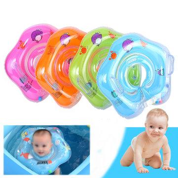 IPRee™ Inflatable Baby Infant Swimming Neck Float Ring Newborn Bath Pool Beach Circle