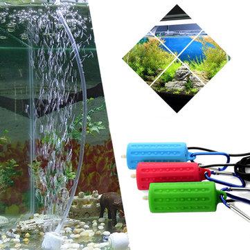Bärbar Mini USB Aquarium Fish Tank Syre Luftpump Mute Energibesparande Tillbehör USB Oxygen Pump