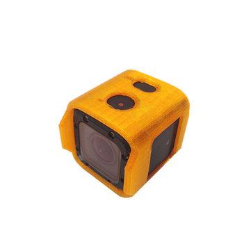 URUAV TPU Camera Protective Case Mount Orange for Foxeer Box 2 FPV Camera