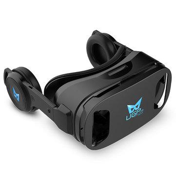 UGP U8 Virtual Reality VR Glasses With Earphone For iphone X 8/8Plus Samsung S8 Xiaomi mi5 mi6