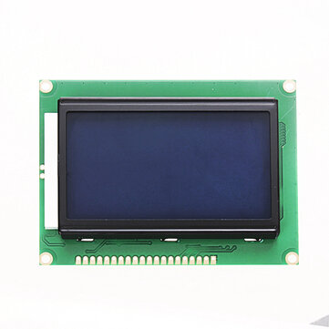 12864 128 x 64 Graphic Symbol Font LCD Display Module Blue Backlight For