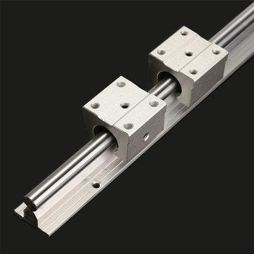SBR12 tige d'axe linéaire de rail de 600mm avec le bloc 2 SBR12UU