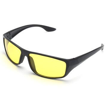 Suleve ™ G01 Dla obu płci okulary do jazdy nocnej Antyodblaskowe okulary ochronne Night Vision Bezpieczeństwo kierowcy UV Okulary przeciwsłoneczne