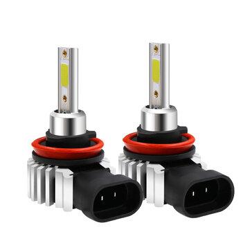 D9 60W 8000LM LED Авто Лампы противотуманные фары Лампа H1 H3 H4 H7 H11 9005 9006 6000K Заменить Ксенон HID Галоген