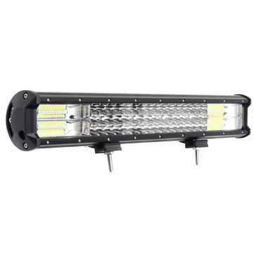 20 Inch LED Light Bars Flood Spot Combo Beam 288W 10-30V White for Off Road Car Truck SUV