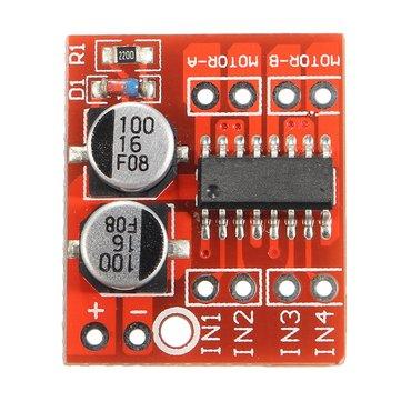3pcs Dual Channel L298N DC Motor Driver Board PWM Speed Dual H Bridge Stepper Module