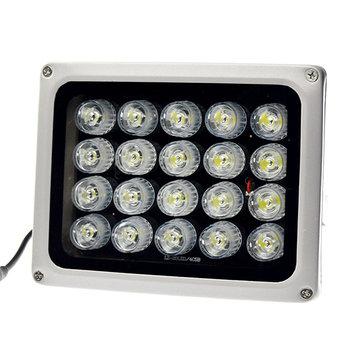 12V 20Pcs IR LEDs Array Illuminator Infrared Lamp IP65 850nm Waterproof Night Vision for CCTV Camera