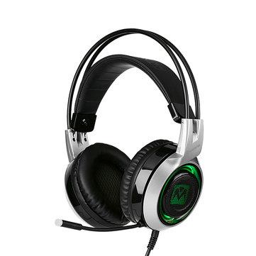 MantisTek® GH2 Smart Vibration Stereo Auriculares para juegos con cancelación de ruido con Micrófono