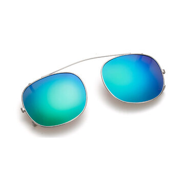 BIKIGHT Polarized Clip on Sunglasses Reflective Mirror Seven Colors