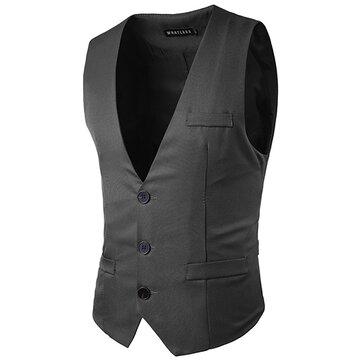 पुरुषों स्लिम फ़िट ठोस रंग कमर फैशन तीन बटन व्यापार आरामदायक वेश्या 5 रंग