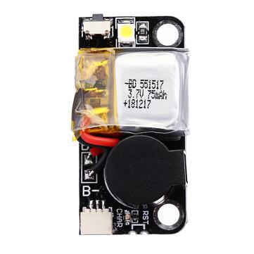 URUAV UR6 5V 110dB BB Alarm Buzzer Mini Tacker 36x18mm with Lipo Battery LED Light for RC Drone FPV Racing