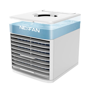 How can I buy NexFan Portable Multifunctional Fast Cooling Air Conditioning Fan Purifying Air Eliminate Odor 3 Speeds USB Charging UV Light Sterilization System with Bitcoin