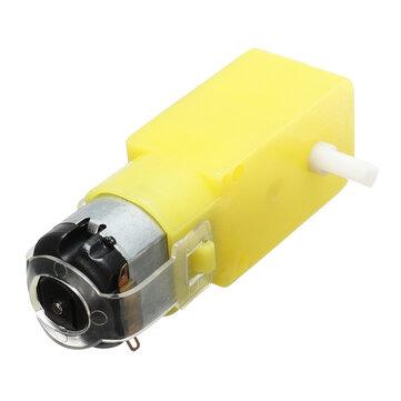 DC 3V-6V Single Axis Gear Reducer Motor For Arduino DIY Smart Car Robot
